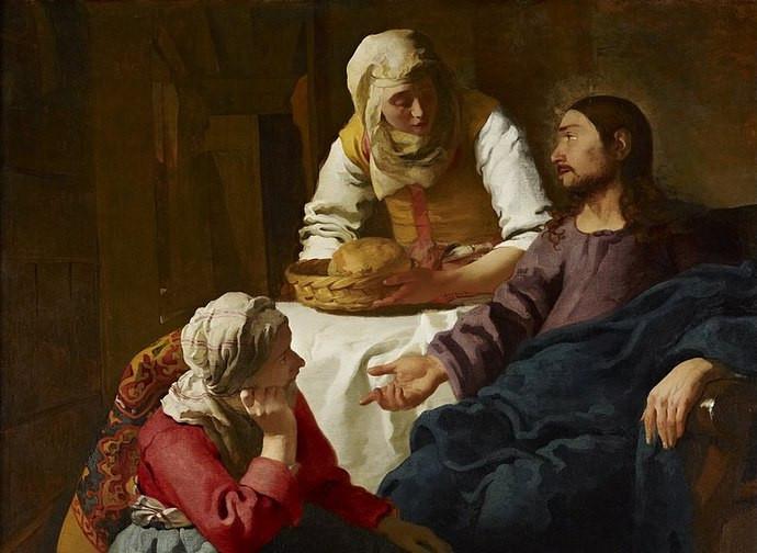 MARTA, MARIA E IL LOGOS